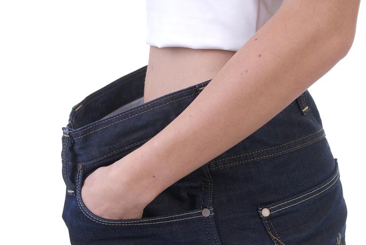 Starke Gewichtsabnahme