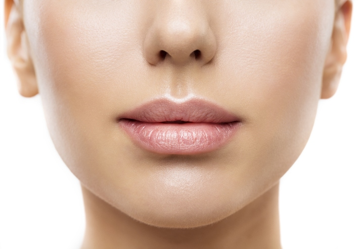 Harmonische Lippen durch Hyalouronsäure